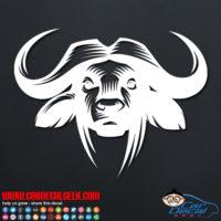 Buffalo Head Decal