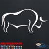 Bull Decal