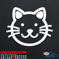 Cute Kitty Cat Decal