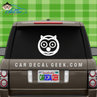 Cute Owl Car Window Sticker Decal