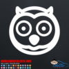 Cute Owl Decal