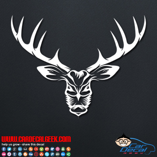 Bad Ass Deer Hunting Decal