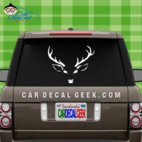 Deer Head Hunting Car Window Decal Sticker