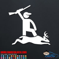 Deer Hunter Decal Sticker