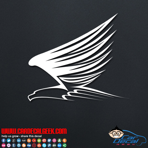 Flying Eagle Decal