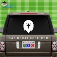 Eagle Head Car Window Decal Sticker