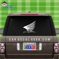 Flying Eagle Car Window Decal Sticker