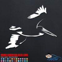 Flying Pelican Decal