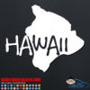 Hawaii Island Car Decal
