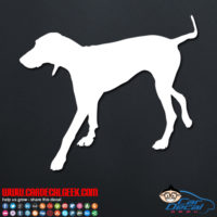 Hunting Dog Decal