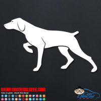Hunting Pointer Dog Decal