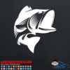 Large Mouth Bass Decal