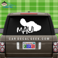 Maui Hawaii Island Car Sticker
