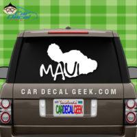 Maui Hawaii Island Car Sticker