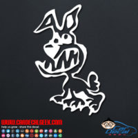Rapid Zombie Dog Decal