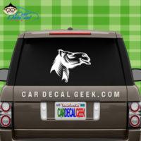 Moose Car Decal Sticker