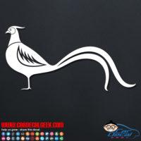 Pheasant Decal