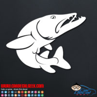 Pike Fish Decal