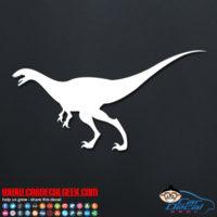 Running Dinosaur Decal