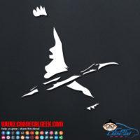 Stork Car Window Decal Sticker