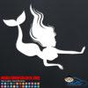 Swimming Mermaid Car Sticker