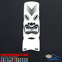 Hawaii Tiki Decal Sticker