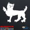 Cat Zombie Car Window Sticker Decal
