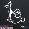 Beluga Whale Decal Sticker