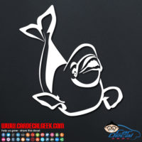 Beluga Whale Decal Sticker