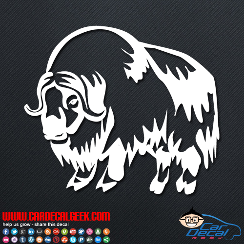 Buffalo Decal Sticker