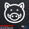 Cute Boar Pig Decal