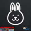 Bunny Rabbit Decal