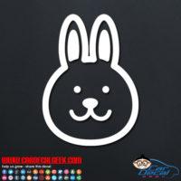 Bunny Rabbit Decal