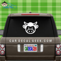 Cute Cow Window Sticker Decal