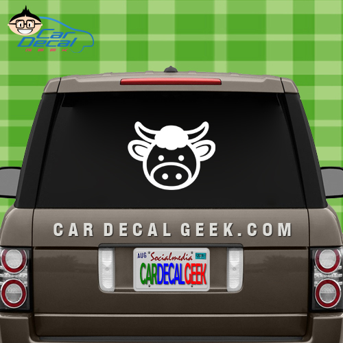 Cute Cow Window Sticker Decal