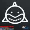 Cute Shark Decal