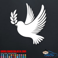 Dove Peace Bird Decal