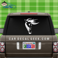 Horse Car Window Decal Sticker