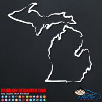 Michigan Decal Sticker