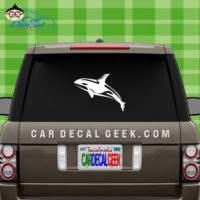 Orca Killer Whale Window Decal Sticker