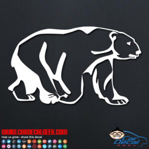 Polar Bear Decal Sticker