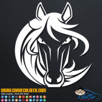 Beautiful Horse Decall Sticker
