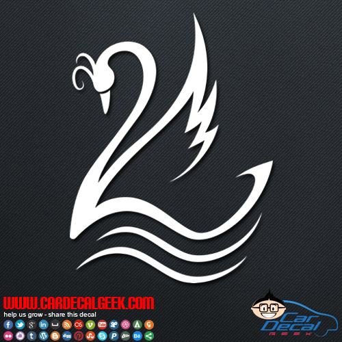 Swan Decal