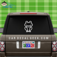 Cute Frog Decal Sticker