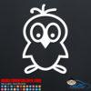 Adorable Bird Decal Sticker