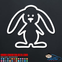 Bunny Rabbit Decal Sticker