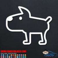 Cute Doggy Decal Sticker