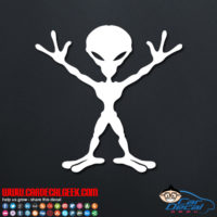 Alien Decal Sticker