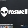 Roswell Alien Decal Sticker