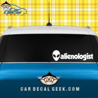 Alienologist Decal